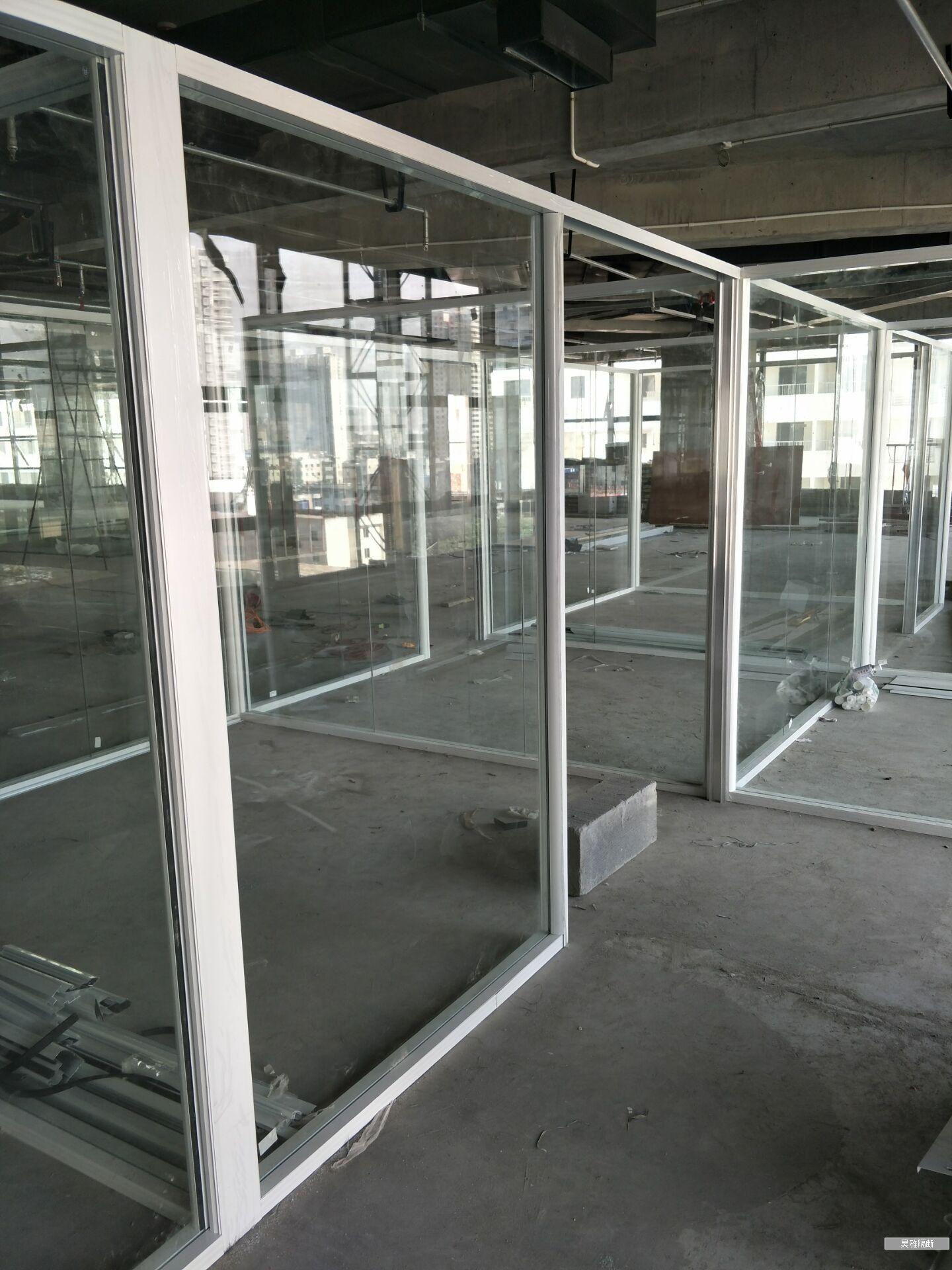 西安玻璃隔断厂家价格